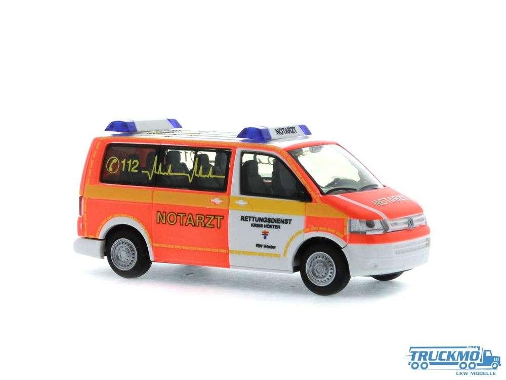 Rietze Notarzt Rettungsdienst Höxter Volkswagen T5 `10 53437