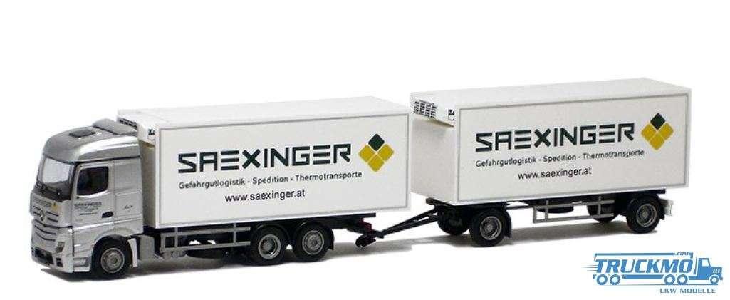 AWM Saexinger Mercedes Benz Actros Streamspace Kühlkoffer-Hängerzug 54405