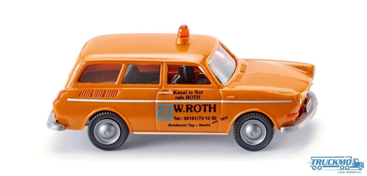 Wiking W. Roth Notdienst Volkswagen 1600 Variant 004201
