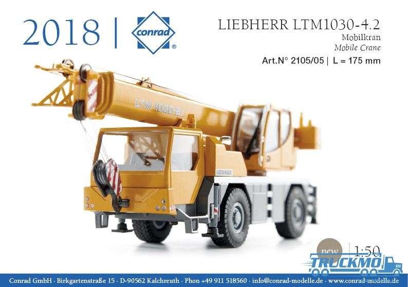 Conrad Liebherr LTM 1030-4.2 Mobilkran 2105/06