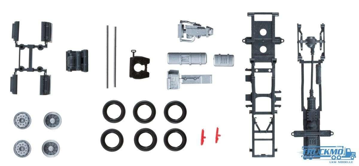 Herpa Zugmaschinen-Fahrgestell Mercedes-Benz Actros Lowliner Inhalt: 2 Stück 084116