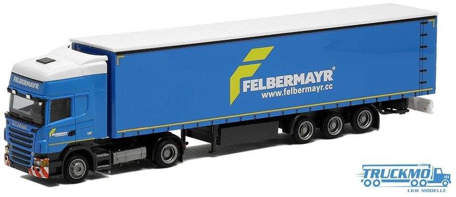 AWM Felbermayr / Bautrans Scania R09 Topline Planenauflieger 74485