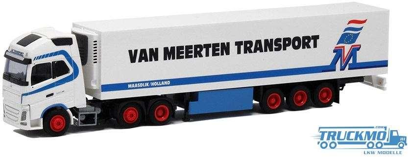AWM Van Meerten Volvo FH12 Globetrotter XL Kühlauflieger 53752
