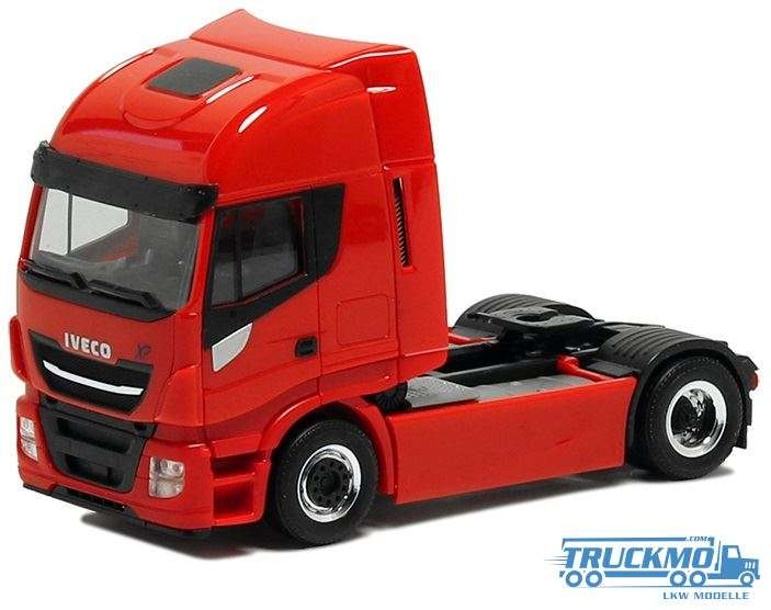 Herpa Iveco Stralis Euro 6 HiWay XP rot 600537