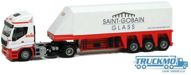 AWM Smet LKW Modell Iveco HiWay Innenlader 9068.11