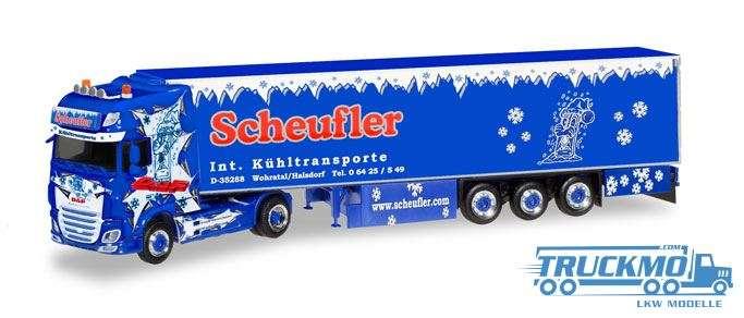 Herpa Scheufler DAF XF SSC Euro 6 Kühlkoffer-Sattelzug 308892