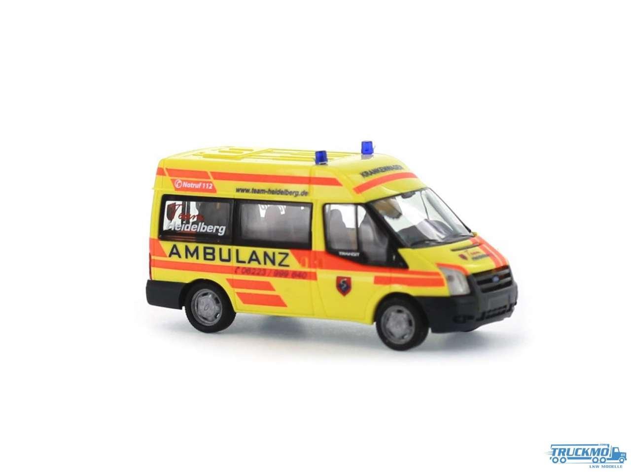 Rietze Ambulanz Heidelberg Ford Transit 06 52526