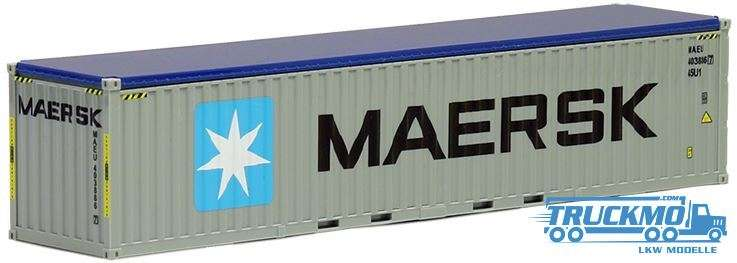 AWM Maersk 40ft. Open Top Container 491932