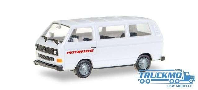 Herpa Interflug Volkswagen T3 Bus 094658