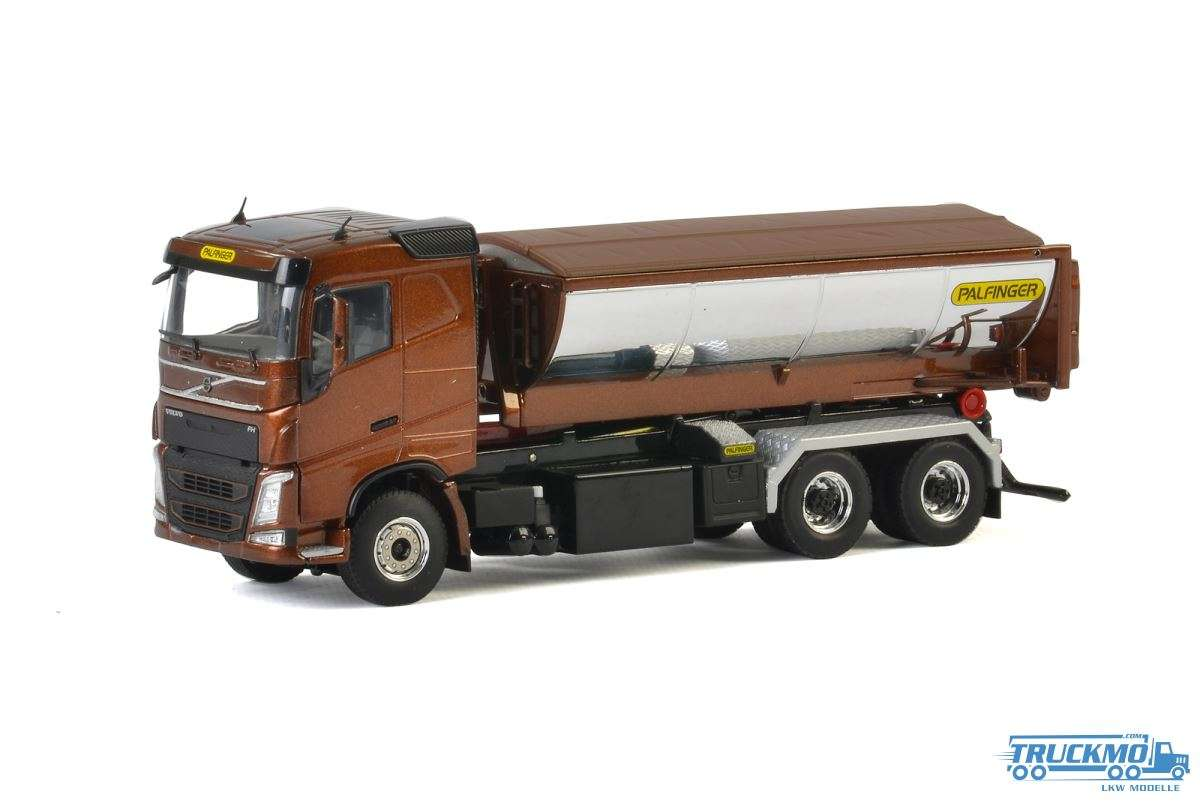 WSI Palfinger Volvo FH04 Sleeper Cab Hackenlift System Container Asphalt 04-2046