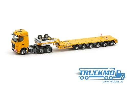 IMC Yellow Series LKW Modell MB Arocs Streamspace 6x4 Nooteboom MCO-PX 6 Achsen 33-0024