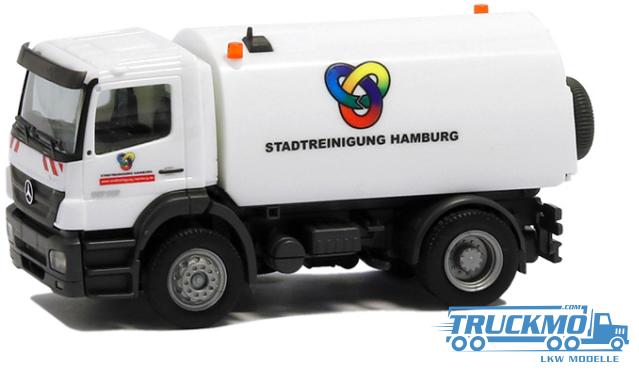 Herpa Stadtreinigung Hamburg 1 Mercedes Benz Atego 04 Kehrfahrzeug 926751
