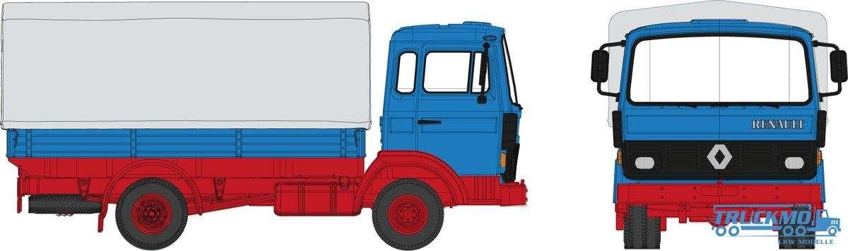 Brekina Renault JN 90 P/P blau 34850