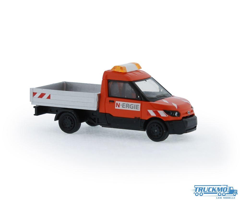 Rietze Streetscooter Work Pritsche N-ERGIE Nürnberg 33204