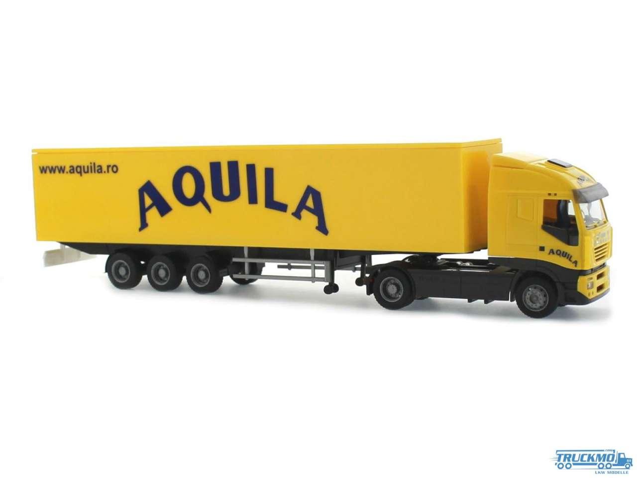 Rietze Aquila Iveco Stralis 07 Kofferauflieger 60887