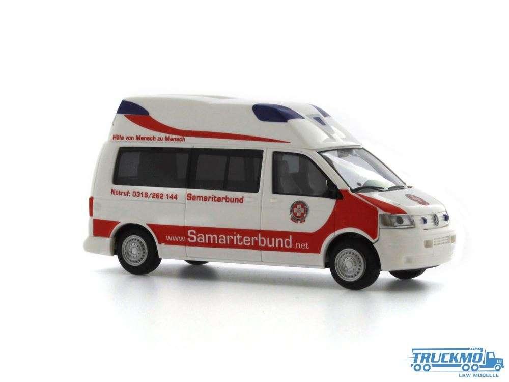 Rietze Samariterbund Graz Volkswagen Ambulanz Mobile Hornis Silver 51884
