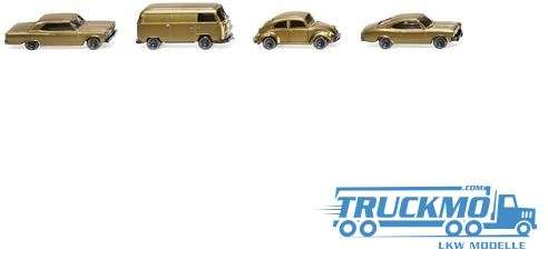 Wiking Drei Pkw-Modelle und ein Kleinbus 50 Jahre Spur N 1:160 091006