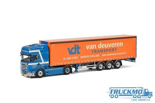 WSI Van Deuveren Transport Scania Streamline Topline Planenauflieger (3 Achs) 01-2364
