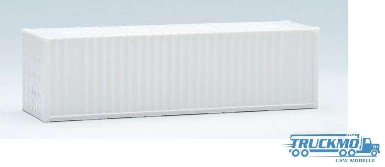 AWM 30ft. Container gerippt weiß mit Domdeckeln 490211