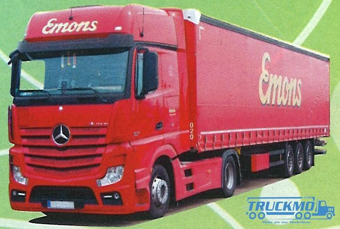 AWM Emons LKW Mercedes Benz Actros2 Giga./ Aerop. - G-KSZ Modell