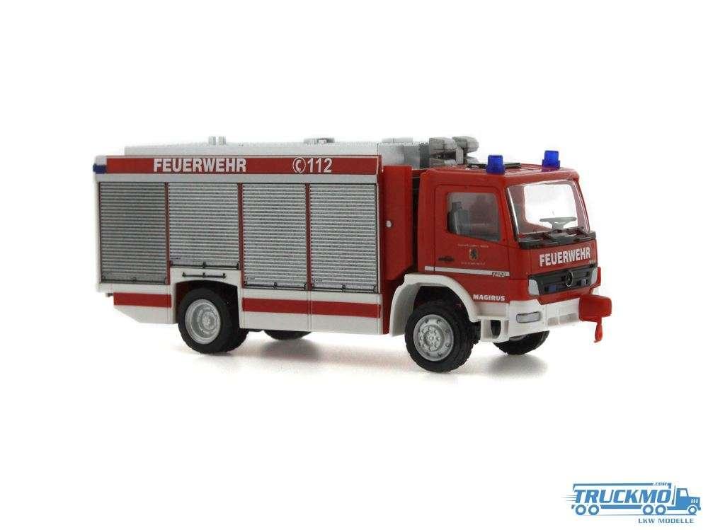 Rietze Feuerwehr Egestorf Mercedes Benz Atego Magirus Alufire 3 RW 71409