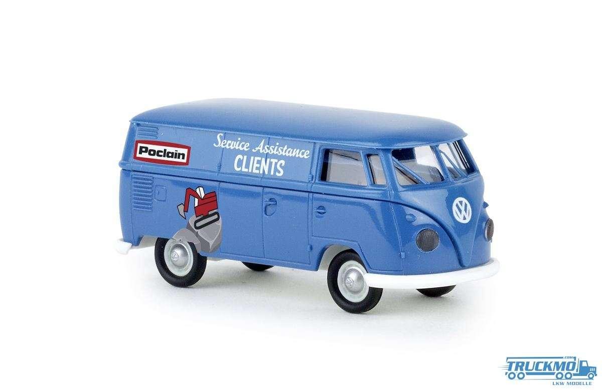 Brekina Poclain Volkswagen Kasten T1b 32716