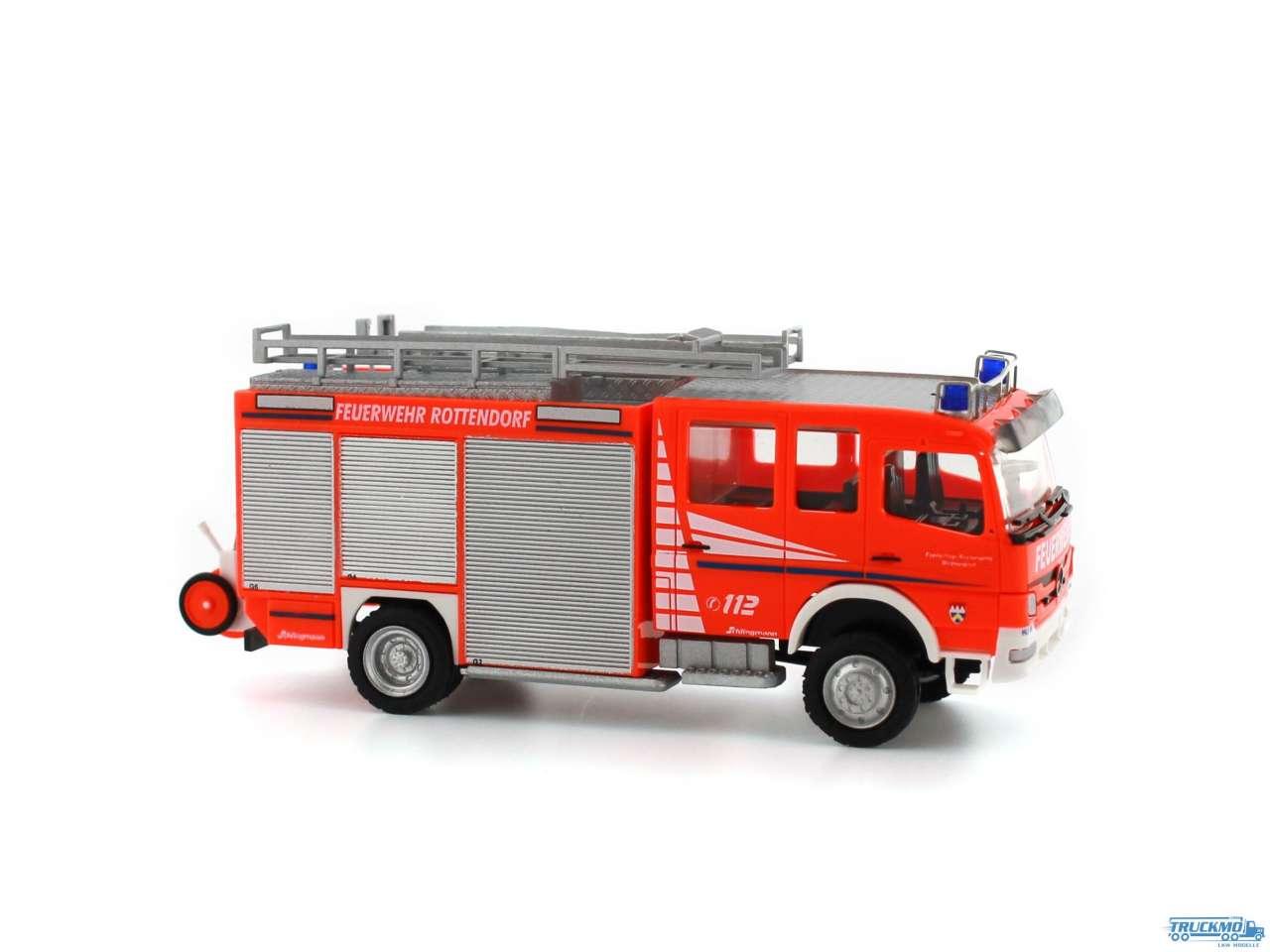 Rietze Feuerwehr Rottendorf Mercedes Benz HLF 20 Schlingmann 68255