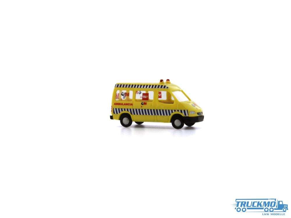 Rietze Ambulancia Madrid Ford Transit Kasten 16978 1.160