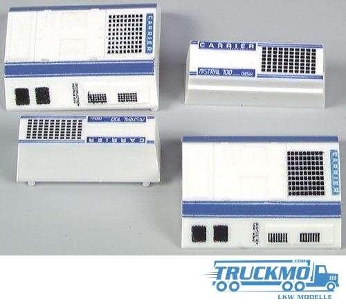 AWM Carrier Kühlaggregat groß und klein 2x2 Stück 90001