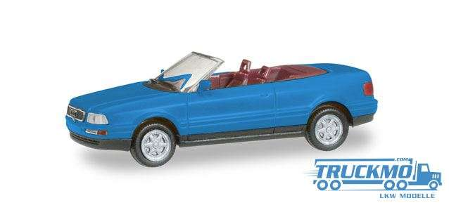 Herpa MiniKit: Audi 80 Cabrio, himmelblau 012287-005