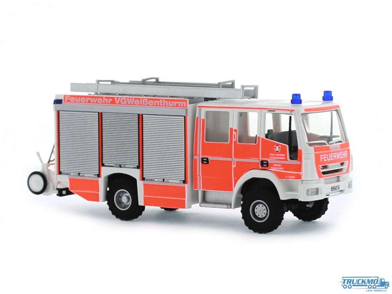 Rietze Feuerwehr Weißenthurm Iveco Magirus Eurofire HLF 20/20 68302
