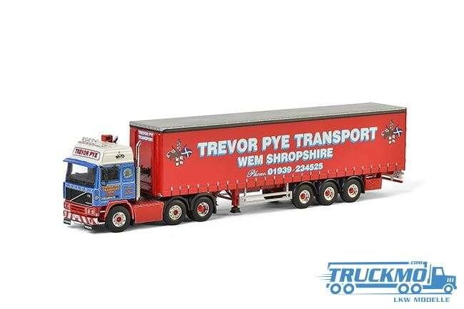 WSI Trevor Pye Transport Volvo F12 Planenauflieger 01-2173