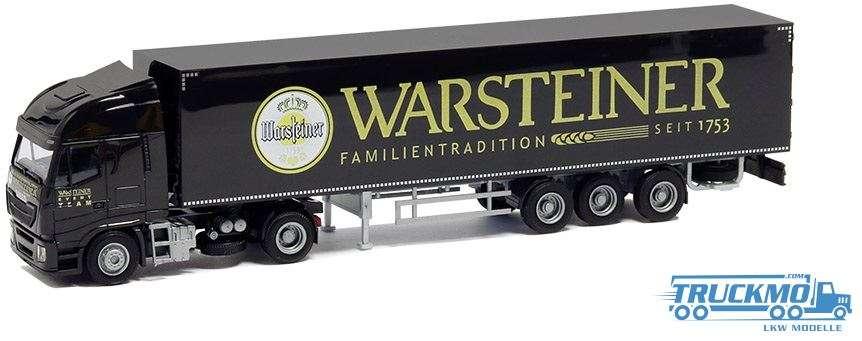AWM Warsteiner Iveco Stralis HiWay Koffersattelzug 75428