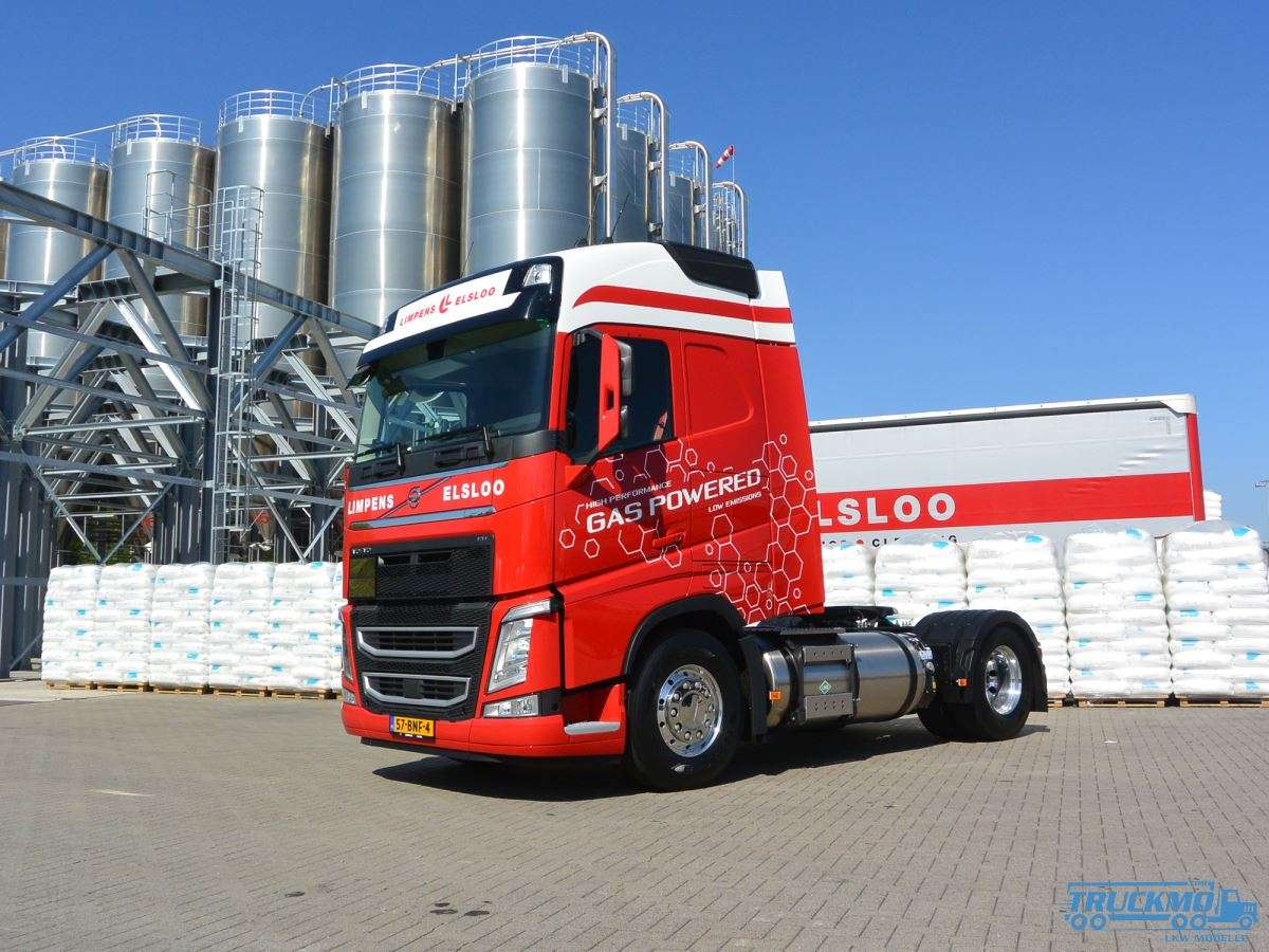 WSI Limpens Volvo FH04 Globetrotter Container-Trailer 01-2928