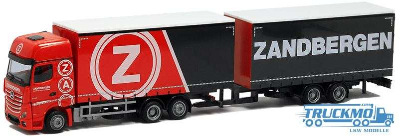 AWM Zandbergen Mercedes Benz Actros Giga Space Jumbo-Hängerzug 53762
