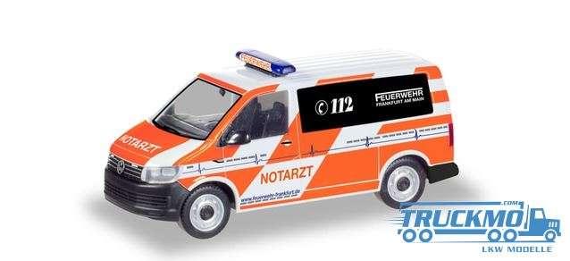 Herpa Feuerwehr Frankfurt/Main VW T6 Notarzt 094986