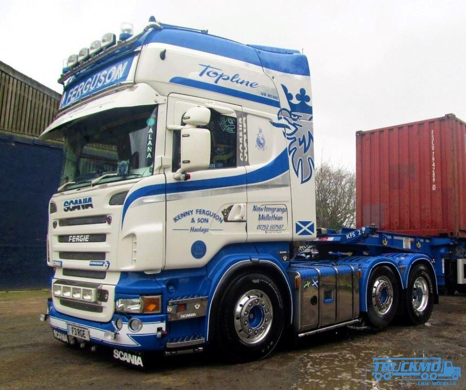 Tekno Fergusson Scania R-Serie Topline 72512 scale model | TRUCKMO Truck Models – Your Truck ...