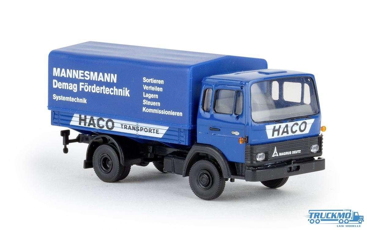 H0 Bierwagen Leikeim mit NEM-Schacht für Steckkupplungen mit FL Profi Kupplung