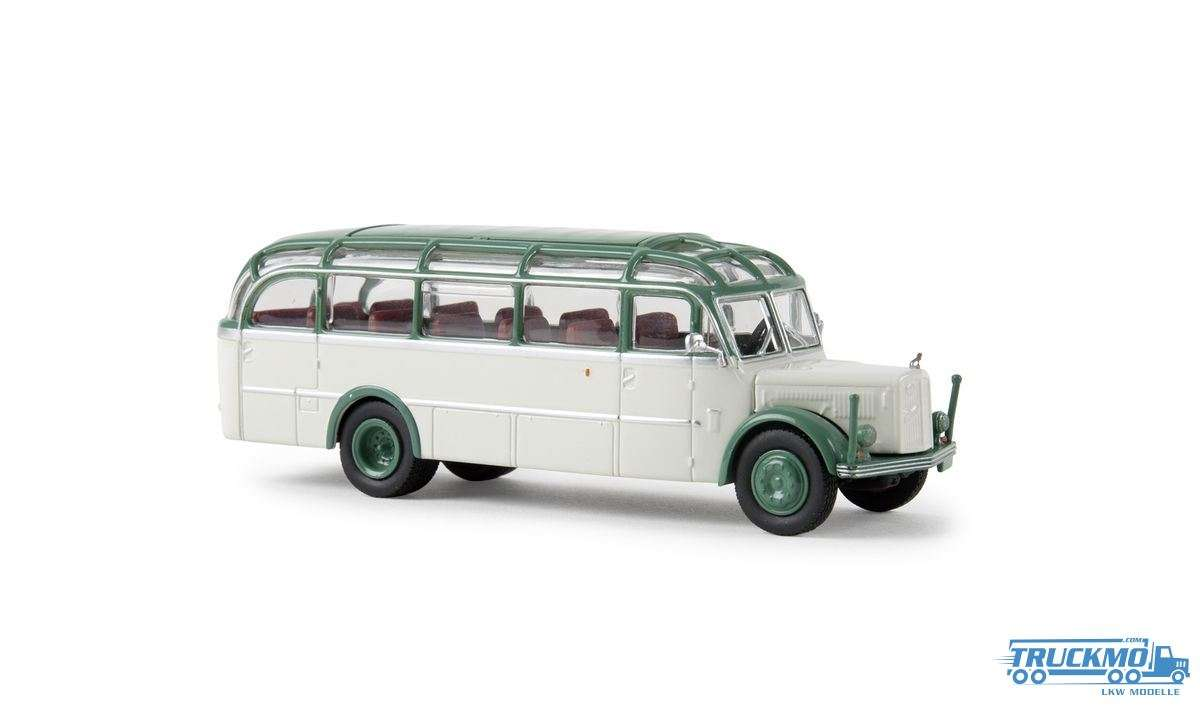Brekina Glockner Bus Gräf & Stift 1200 OGL Starline grau grün 58086