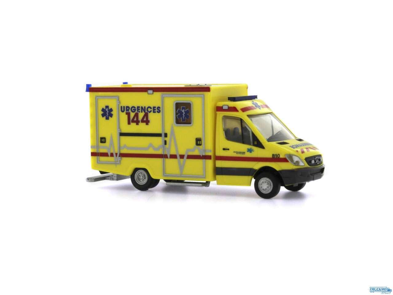 Rietze Ambulanz Sud Fribourgeois Mercedes Benz WAS Ambulanz RTW 61797