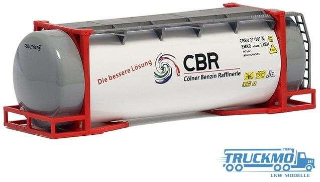 AWM CBR Cölner Benzin Raffinerie 26ft. Tankcontainer 492125