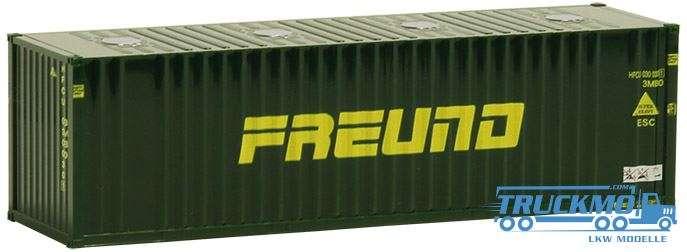 AWM Freund 30ft. Container mit Domdeckeln 491303