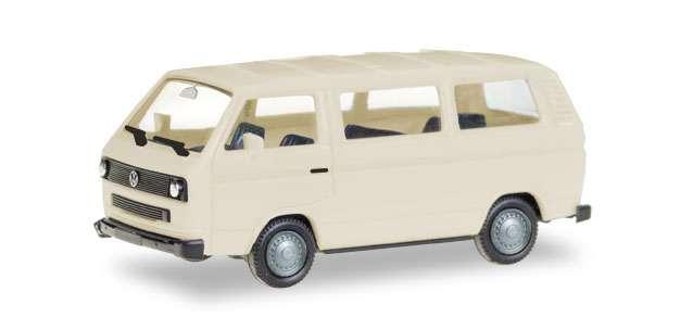 Herpa MiniKit: VW T3 Bus, elfenbein (unbedruckt) 013093