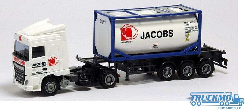AWM Jacobs DAF XF 106 Space Cab 20ft. Tank-Container 75341