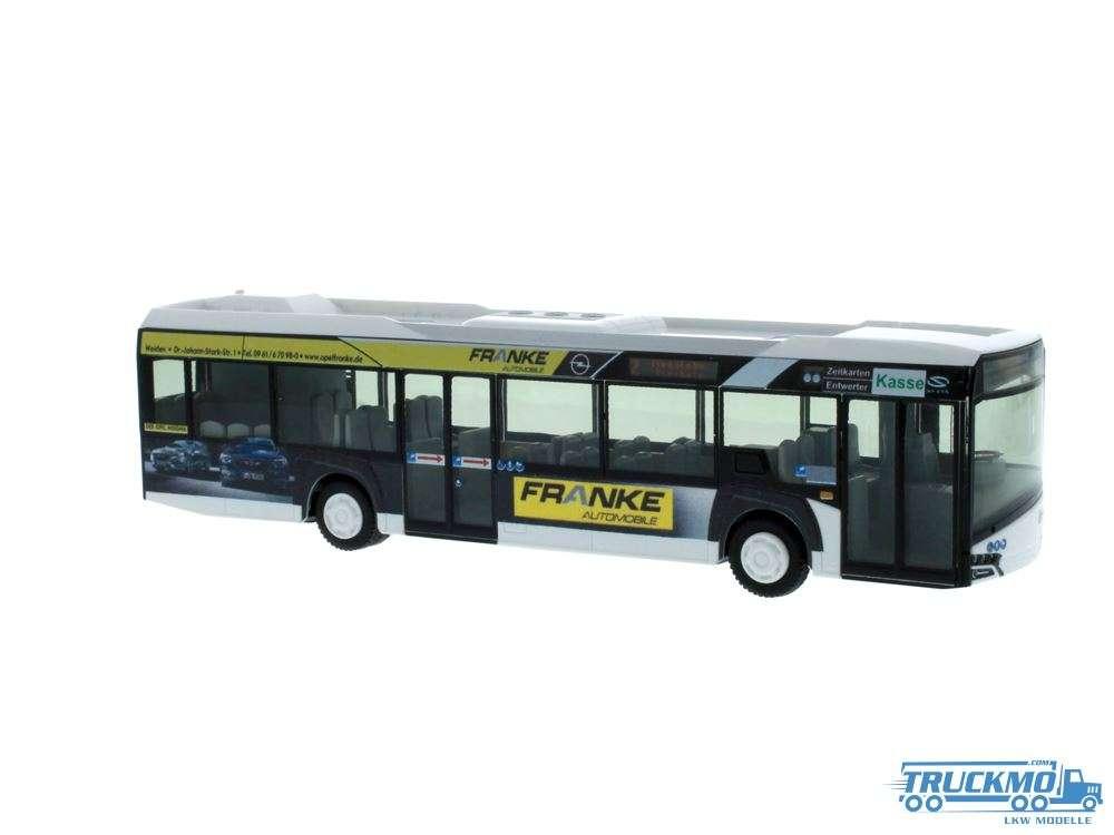 Rietze Stadtbus Weiden Opel Franke Solaris Urbino 14 12 73026