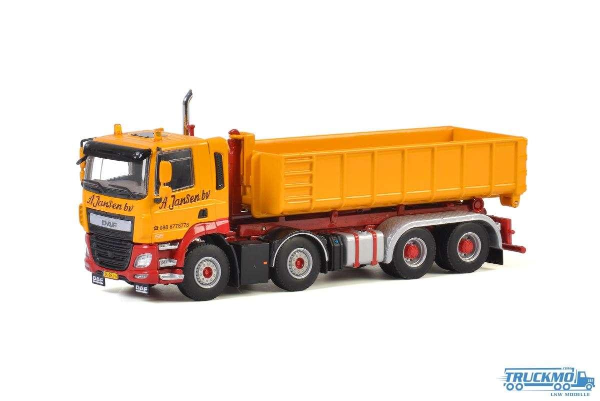 WSI A. Jansen B.V. DAF CF Day Cab Hakenlift System + Hakencontainer 15 m³ 01-2798