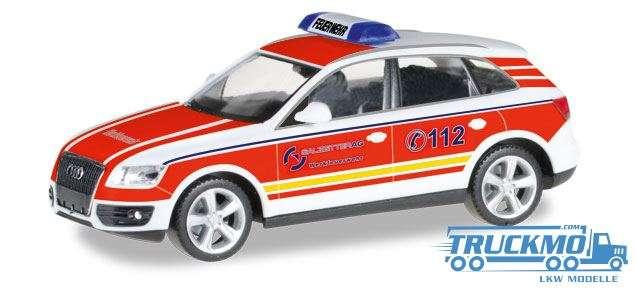 Herpa Werkfeuerwehr Salzgitter Audi Q5 ELW 092661