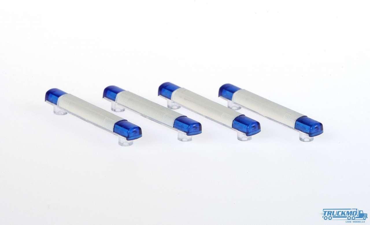 Rietze Topas-Blaulichtbalken 4 Stk 70191