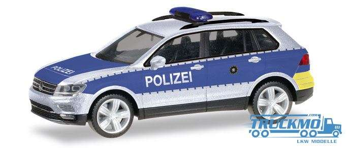 Herpa Polizei Wiesbaden VW Tiguan 093613