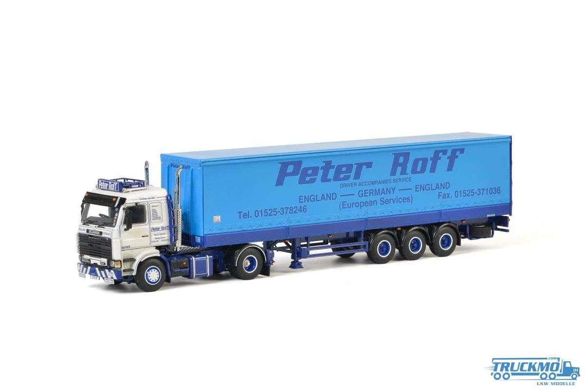 WSI Peter Roff Scania 3 Series Planenauflieger 3 Achs 01-2714
